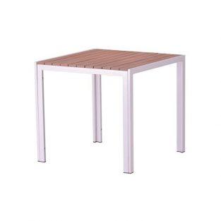 Mesa de jardín PLAYAMAR, blanca