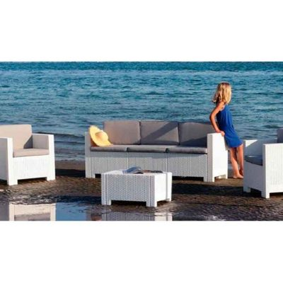 Conjunto Acacia 113mesa color Blanco