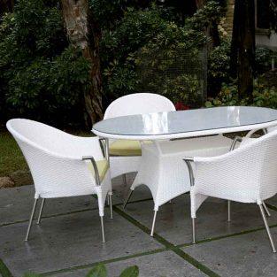 Conjunto de Jardín Bianco